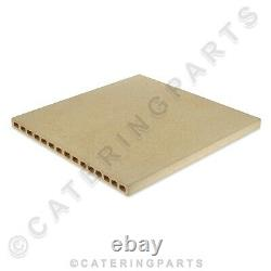 OEM PERFORATED REFRACTORY STONE DECK AL151 622x606x25mm F25 PIZZA BAKING OVEN