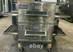 Oven Pizza MIDDLEBY MARSHALL / PS 540 G / Double Deck Conveyors 32 wide / Gas