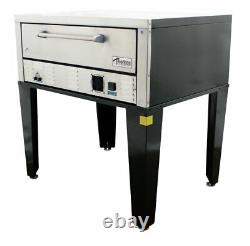 Peerless CE41BE 7 High 1 Deck Floor Model Bake and Roast Electric Pizza Oven