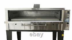 Peerless CW100PESC 1 Deck Electronic Super Size Floor Model Gas Pizza Oven