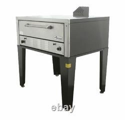 Peerless CW41B 7 High Single Deck Floor Model Bake and Roast Gas Pizza Oven