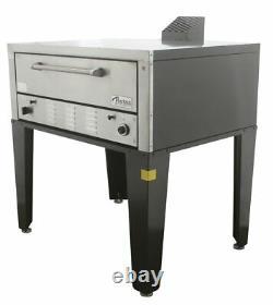 Peerless CW41P Single Deck Floor Model Gas Pizza Oven