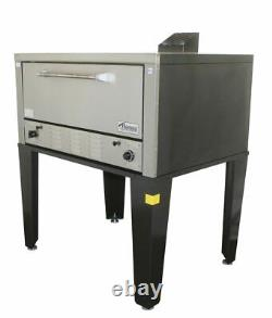 Peerless CW51B 12 High Single Deck Bake and Roast Gas Pizza Oven