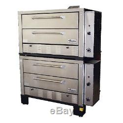 Peerless CW62PSC Gas Deck-Type Pizza Bake Oven
