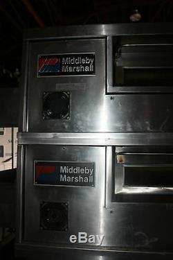 Pizza Oven Middleby Marshall PS570S DOUBLE Deck Conveyor