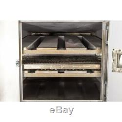 Reconditioned Lincoln 1000 32 Double Deck Gas Conveyor Pizza Oven