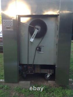 Revolving deck pizza oven, gas fired Marsal