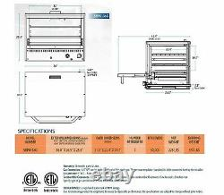 Sierra Range SRPO-36G Countertop Gas Pizza Oven with Ceramic Decks