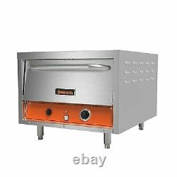Sierra SRPO-24E 26 Double Deck Electric Countertop Pizza Oven with Manual Co