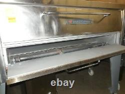 Used! Bakers #451 66 L Single Deck Pizza Oven, Natural Gas