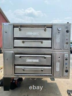 Used Bari M6PS Pizza Double Deck Oven