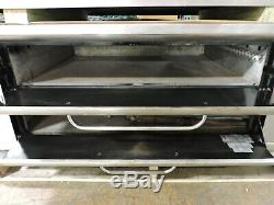 Used Blodgett 961P Commercial Gas Pizza Deck Oven