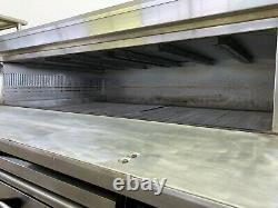 Used MARSAL SD 1060 Double deck gas pizza oven