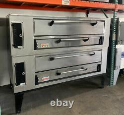 Used Marsal SD 660 Double Deck Gas Pizza Oven