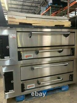 Used Marsal sd pizza oven 448 Double deck pizza oven