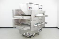 Used Middleby Marshall PS360 Double Deck Gas Conveyor Pizza Oven 573501