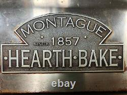 Used Montague Hearthbake 24-P Two Deck Pizza Oven 650º Cordite Deck
