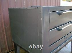 Vulcan Natural Deck Gas Double Pizza Oven With Brand New Stones Bake