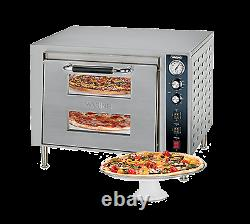 Waring WPO700 Double-Deck Pizza Oven electric countertop