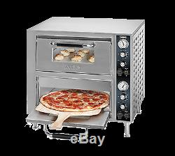 Waring WPO750 Double-Deck Pizza Oven electric countertop