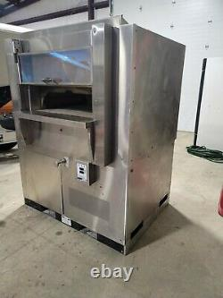 Wood Stone Fire Deck Pizza Oven WS-FD-6045-RFG-L-IR-NG