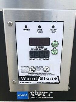 Woodstone WS-FD-9660 Gas 96 Pizza Oven with Exhaust Hood