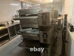 XLT Model 3270 Triple Deck Gas Conveyor Pizza Oven (Reconditioned)