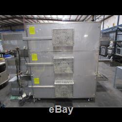 Xlt 3255 X3d Triple Deck Conveyor Pizza Oven Natural Gas