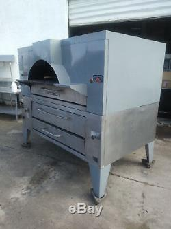 Y-800/fc-816 Bakers Pride Gas Pizza Oven Double Deck Includes Free Shipping